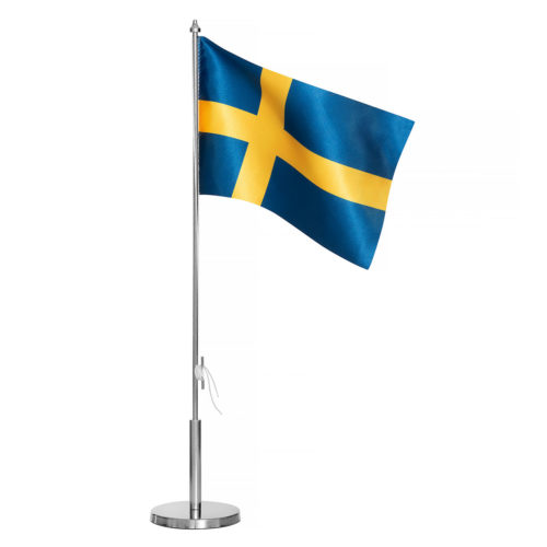 Bordsflagga nation